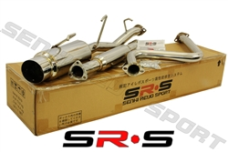 SRS Honda Prelude 92-96 SI catback exhaust system