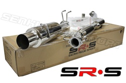 SRS Mitsubishi Lancer ES catback exhaust system SRS-CBEX-MES0203