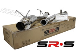 "SRS Nissan 240SX 89-94 S13 3"" catback exhaust system"