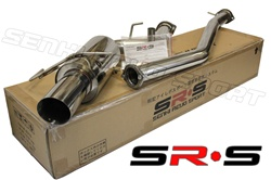 "SRS Nissan 240SX 95-98 S14 3"" catback exhaust system"