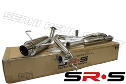 SRS Nissan 200SX 2.0L 95-99 catback exhaust system
