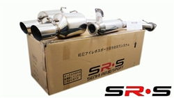 SRS Scion FRS 2013 catback exhaust system dual tip