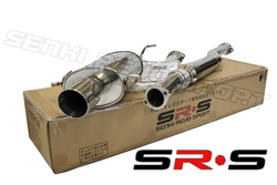 SRS Subaru Impreza RS 02-07 TYPE-RE catback exhaust system