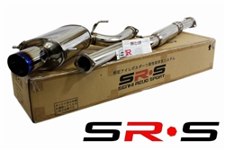 SRS Subaru Impreza RS  02-07 TYPE-RE Burned Tip catback exhaust system