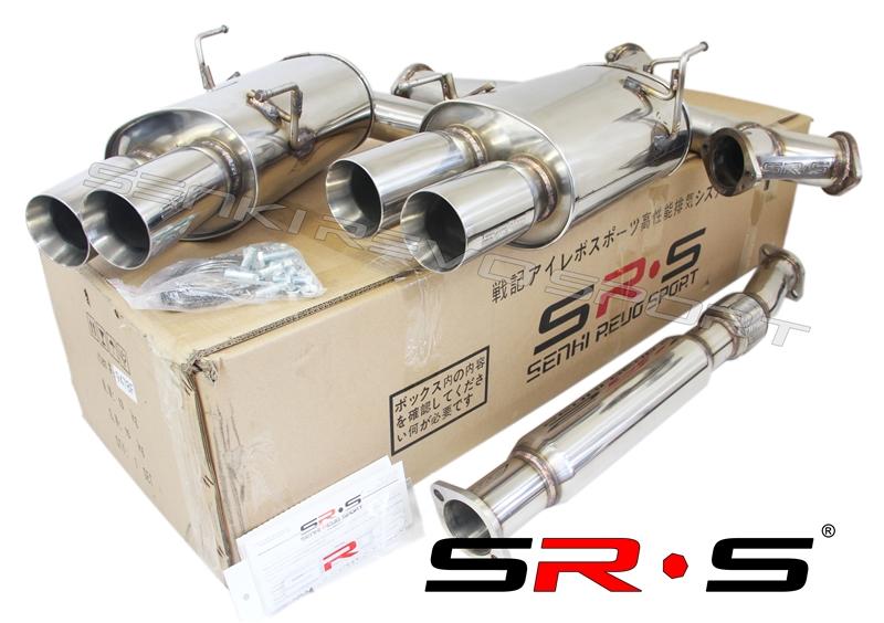 SRS catback exhaust system for 02-07 Subaru WRX//STI TYPE-RE