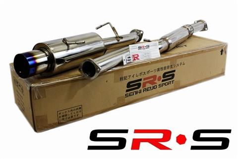 SRS Subaru WRX TURBO 02-07 Burned Tip catback exhaust system