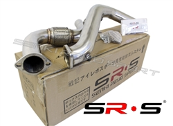 "SRS 15-17 Ford Mustang Ecoboost 3"" Stainless Steel Downpipe Turbo"