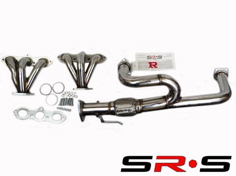 HONDA ACCORD 98-02 V6 STAINLESS STEEL HEADER INCLUDES DOWNPIPE