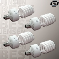 SET OF FOUR 50W HIGH OUTPUT PBL PHOTO FLOURESCENT BULBS