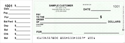 End-Stub Personal Size Checks - Low Vision Format