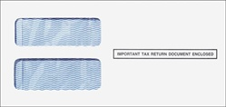 1099 3up Standard Double Window Envelope