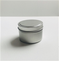 Conditioner Bar Tin with Lid - 6.7 cm (2.64 in) Inside Diameter