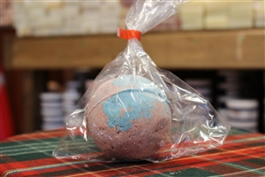 Bubblegum Bath Bomb (Blue & Pink) - 7 cm