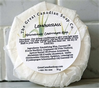 Lemongrass Conditioner Bar - Round 70 g (2.5 oz)