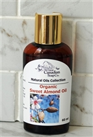 Organic Sweet Almond Oil - 60 ml (2.0 fl oz)