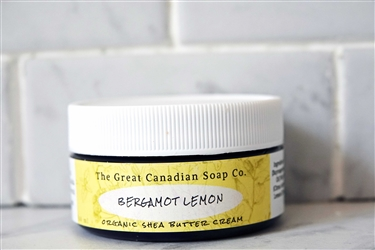 Bergamot Lemon Organic Shea Butter Cream - 60 ml