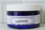 Lavender Organic Shea Butter Cream - 120 ml