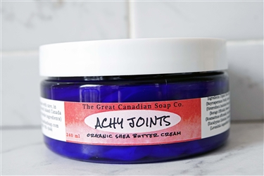 Achy Joints Organic Shea Butter Cream - 240 ml