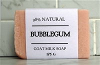 Bubble Gum Goat Milk Soap - Rectangle Bar 100 g
