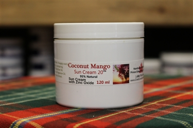 Coconut Mango Sun Cream