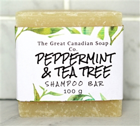 Peppermint & Tea Tree Goat Milk Shampoo Bar 100 g