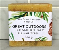 Great Outdoors Shampoo Bar - Square 100 g
