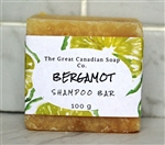 Bergamot Hard Goat Milk Shampoo Bar - Square 100 g