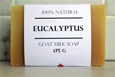 Eucalyptus Goat Milk Soap - Extra Large Bar 175 g