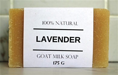 Lavender Goat Milk Soap - Extra Large Bar 175 g