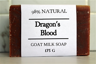 Dragon's Blood Goat Milk Soap-Extra Large Bar 175g