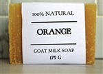 Orange Zest Goat Milk Soap - Extra Large Bar 175 g