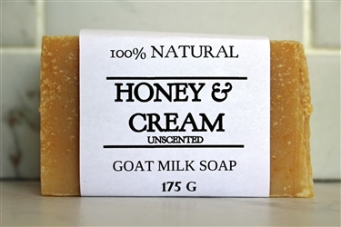 Honey & Cream Goat Milk Soap-Extra Large Bar 175 g