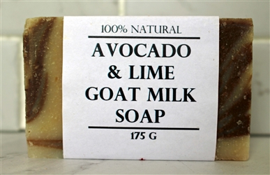 Avocado & Lime Goat Milk Soap-Extra Large Bar 175g