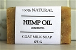 Hemp Goat Milk Soap - Extra Large Bar 175 g