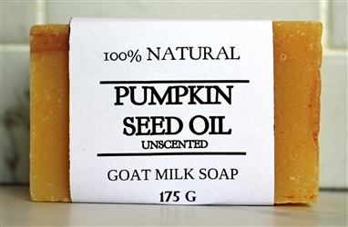 Pumpkin Goat Milk Soap - Extra Large Bar 175 g