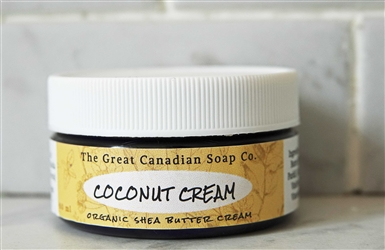 Coconut Organic Shea Butter Cream - 60 ml (2.0 fl oz)