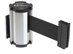 Magnetic Wall Mounted 7' Retractable Belt - Model Beltrac 3010MG