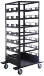 Storage Cart for 21 Stanchion