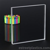 "24"" x 24"" - Clear Acrylic Plexiglass Sheet - 3/16"" Thick Cast"