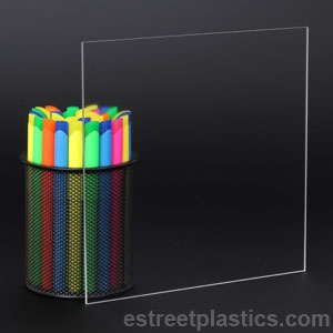 18 Thick 4 X 6 P99 Non Glare Plexiglass Acrylic Sheet