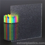 "1/8"" x 12"" x 12"" - Pebble Polycarbonate Lexan (Textured 1 Side)"