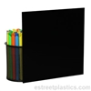 "1/8"" x 6"" x 12"" - Black Polycarbonate Lexan Sheet"