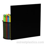 "1/8"" x 18"" x 24"" - Black Polycarbonate Lexan Sheet"