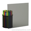 "1/8"" x 24"" x 24"" - Transparent Grey Smoked Polycarbonate Lexan (Light)"
