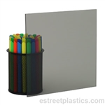"1/8"" x 12"" x 48"" - Transparent Grey Smoked Polycarbonate Lexan (Light)"
