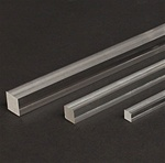 Square Acrylic Rod