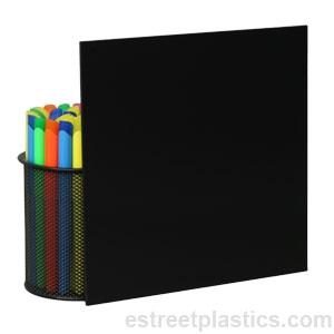 "#2025 Black Acrylic Plexiglass sheet 1//4/"" x 12/"" x 24/"" #2025"