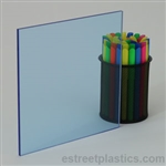 Sample Chip - Fluorescent Plexiglass Acrylic - Blue