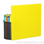 Sample Chip - Yellow Plexiglass Acrylic - #2037