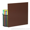 brown plexiglass 2418